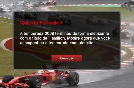 Quiz F1 2008