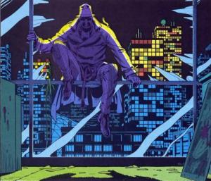Rorschach, uma versão realista do Batiman.
