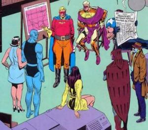 Uma reunião dos vigilantes