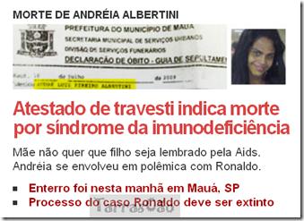 andreia albertine travesti de ronaldo